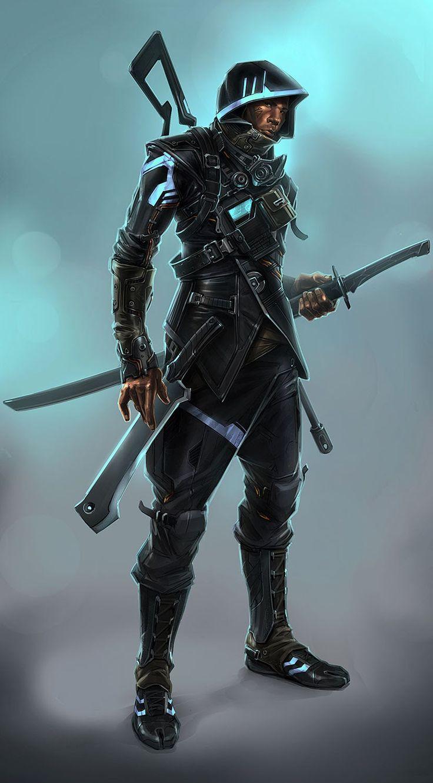More And Ninjas Cyborgs
