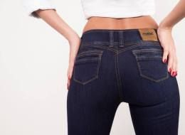 push-up jeans ivido - these work for pear shapes, not so well for apple shapes, they tend to dip down in the front as well.