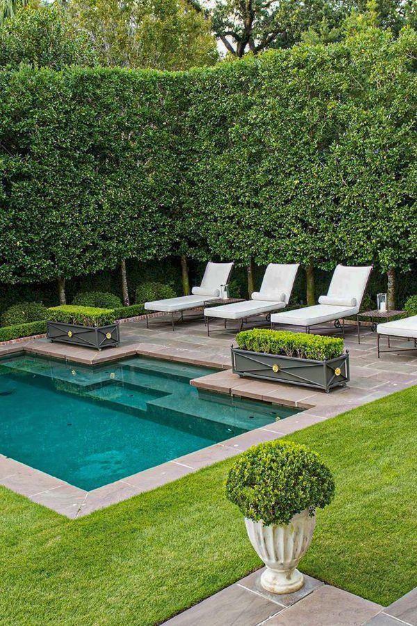 46 Wonderful Backyard Pool Ideas For You And Your Family Page 10 Of 46 Lasdiest Com Dail Kleine Hinterhof Pools Hinterhof Pool Landschaftsbau Hintergarten