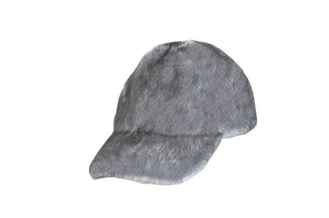 Royal Fur Club    Blue Iris Mink Baseball-Style Hat