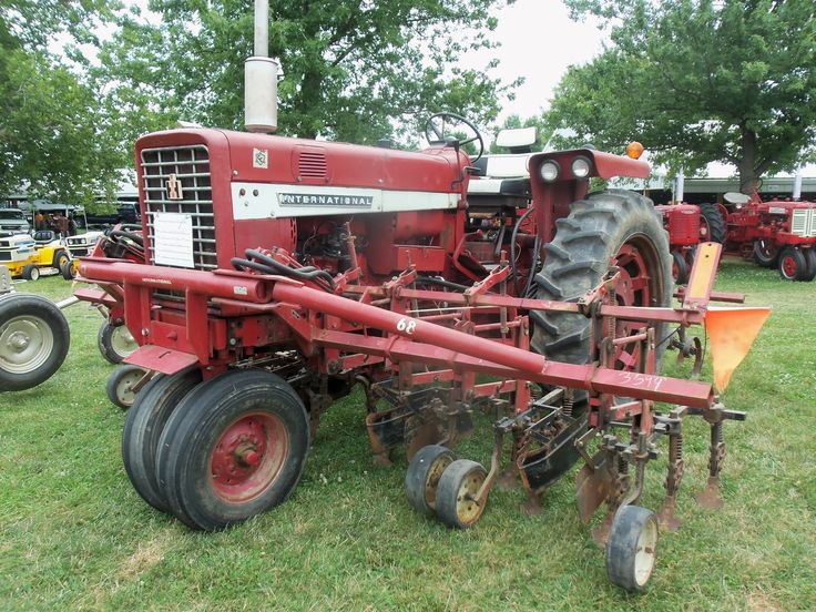 Ih Cultivator Parts : Nice setup with this international hooked to