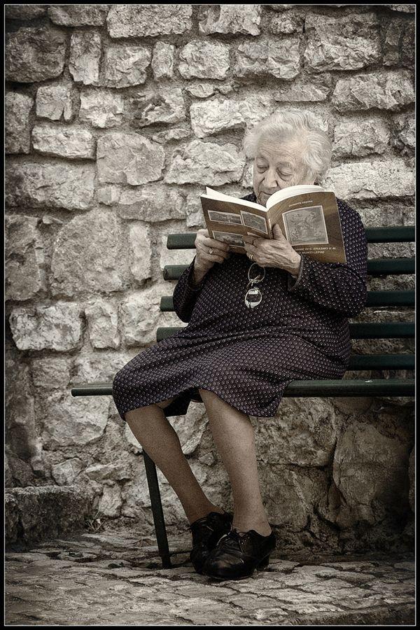 Escape in a book no matter the age