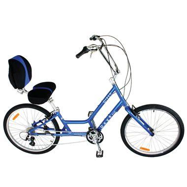 The Bucket Seat Bicycle - Hammacher Schlemmer