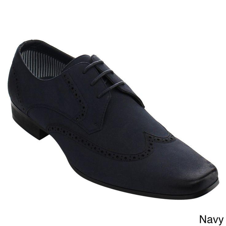 Arider Men's Brown Faux- Oxford Shoes
