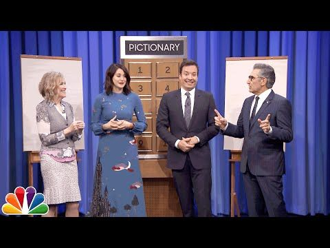 The Tonight Show Starring Jimmy Fallon: Pictionary with Shailene Woodley, Eugene Levy and Catherine O'Hara