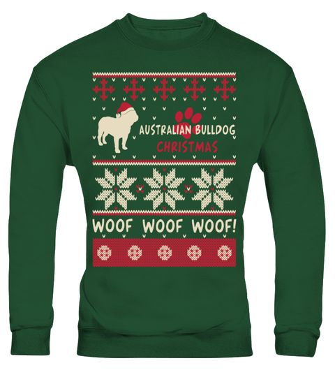 # Australian Bulldog Christmas Sweater Shirt .  HOW TO ORDER:1. Select the style and color you want: 2. Click Reserve it now3. Select size and quantity4. Enter shipping and billing information5. Done! Simple as that!TIPS: Buy 2 or more to save shipping cost!This is printable if you purchase only one piece. so dont worry, you will get yours.Guaranteed safe and secure checkout via:Paypal | VISA | MASTERCARDAustralian Bulldog Christmas Sweater Funny Shirt