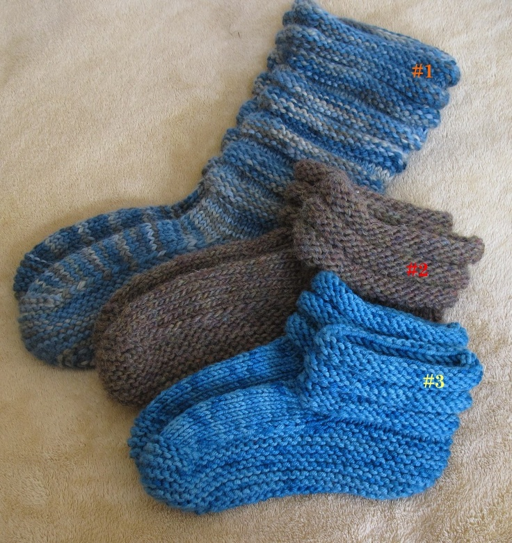 Knit Muk Luks Slippers Knit Patterns Knit Crochet And Socks