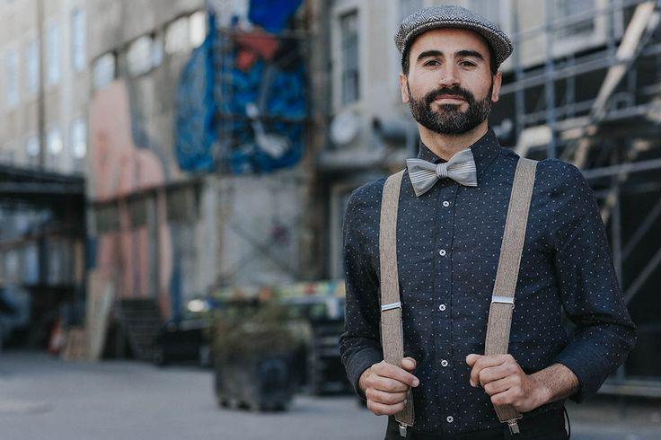 Linen Mens Suspenders, Beige Suspenders for Men, Mens Braces, Light Brown  Wedding Suspenders for Groom, for Groomsmen, Casual Suspenders by baboshkaa on Etsy