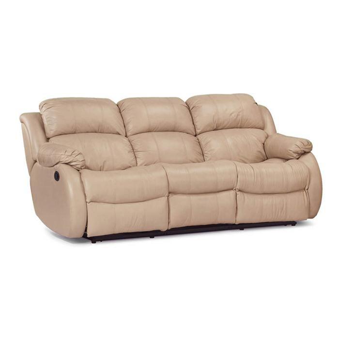Cheap Sofas Flexsteel Leather Match Power Reclining Sofa Nebraska Furniture Mart