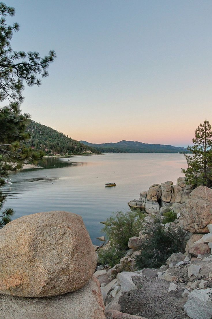 90 miles from the Los Angeles swelter, cool Big Bear Lake awaits.
