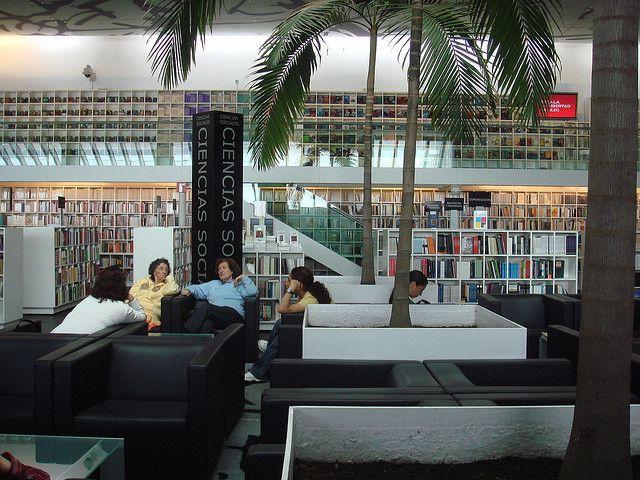 Librería Rosario Castellanos (FCE) -2 by pedro vit, via Flickr  FCE Rosario Castellanos Bookstore, Mexico City.