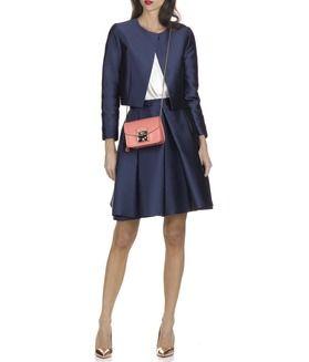 E-shop Jupe à Godet En Satin Bleu Tara Jarmon pour femme sur Place des tendances Groupe Printemps. Retrouvez toute la collection Tara Jarmon pour femme.