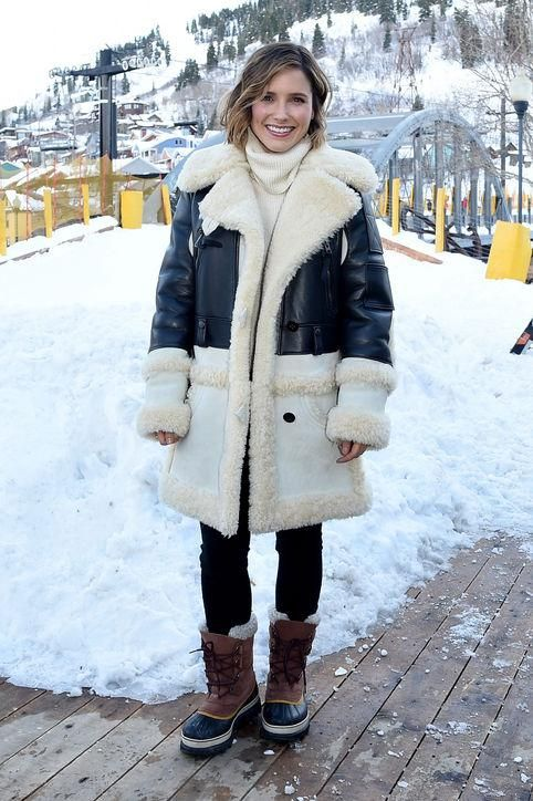 Cold weather outfit inspiration from the stars? Click to see what celebrities like Sophia Bush, Kerry Washington, and Chrissy Teigen are all wearing at Sundance.