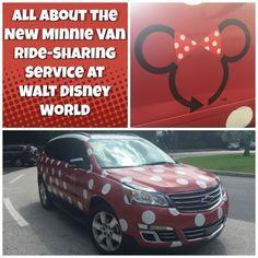 First Look at Walt Disney World's New Minnie Van Ride Sharing Service