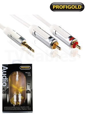 Profigold PROI3401 1m iPod Hi-Fi Audio Cable Profigold PROI3301 1m iPod audio cable compatibe with portable equipment mp3 players ipod iphone and ipad etc. Slimline 3.5mm plug. http://www.MightGet.com/february-2017-3/profigold-proi3401-1m-ipod-hi-fi-audio-cable.asp