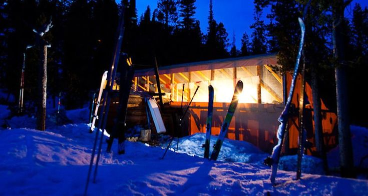 Sun Valley Trekking Yurt System / Plan a fun and cozy getaway to one of these winter backcountry huts that are accessible via snowshoeing, cross-country, or backcountry skiing.