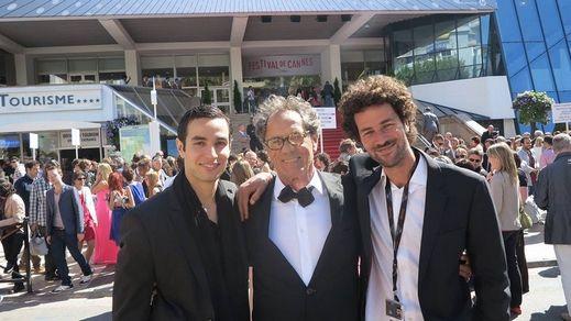 Adam Bakri, Mohammed Bakri and Saleh Bakri Cannes 2013