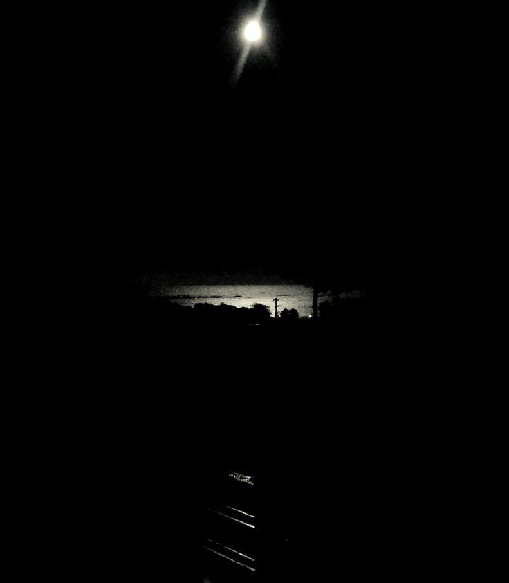 Photo: Mette Søby-Enger Stavern, Norway.. moonlight.