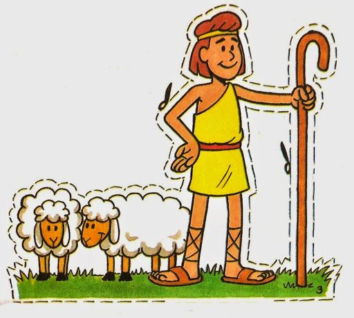 David y goliat titeres 5