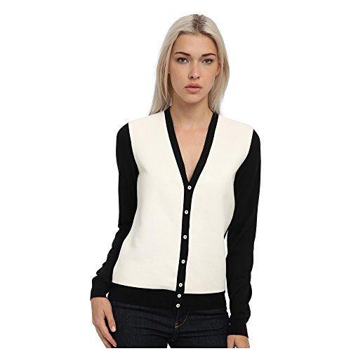 (ディースクエアード) DSQUARED2 レディース トップス 長袖シャツ Two-Tone Cardigan 並行輸入品  新品【取り寄せ商品のため、お届けまでに2週間前後かかります。】 表示サイズ表はすべて【参考サイズ】です。ご不明点はお問合せ下さい。 カラー:Black/Off White 詳細は http://brand-tsuhan.com/product/%e3%83%87%e3%82%a3%e3%83%bc%e3%82%b9%e3%82%af%e3%82%a8%e3%82%a2%e3%83%bc%e3%83%89-dsquared2-%e3%83%ac%e3%83%87%e3%82%a3%e3%83%bc%e3%82%b9-%e3%83%88%e3%83%83%e3%83%97%e3%82%b9-%e9%95%b7%e8%a2%96-3/