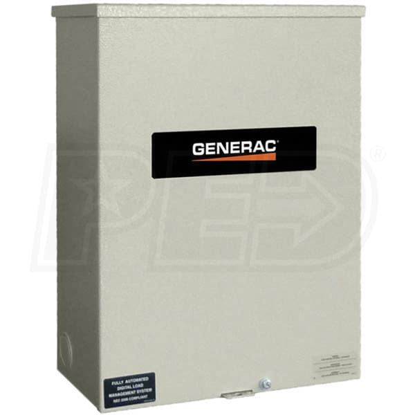 Generac Rxsc200a3 200 Amp Automatic Smart Transfer Switch W Power Management Transfer Switch Controller Design Smart Switches