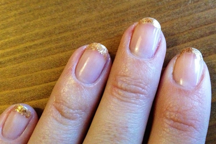 A little gold by Manicurism. £10