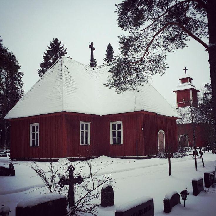 """""""#Church of #Revonlahti #kirkko #kellotapuli"""""""