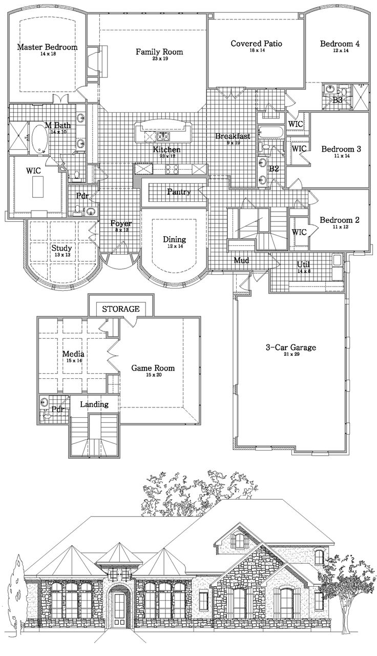 Texas Ranch Floor Plans House Plans Bluprints Home Plans Garage Plans And