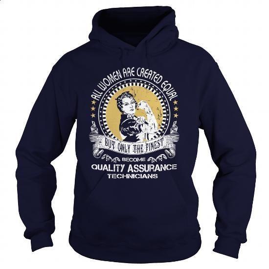 Quality Assurance Technician - #teen #hoddies. BUY NOW => https://www.sunfrog.com/LifeStyle/Quality-Assurance-Technician-96246559-Navy-Blue-Hoodie.html?60505