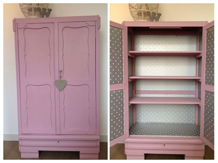 Annie Sloan Henrietta closet made by myself. Nice color!