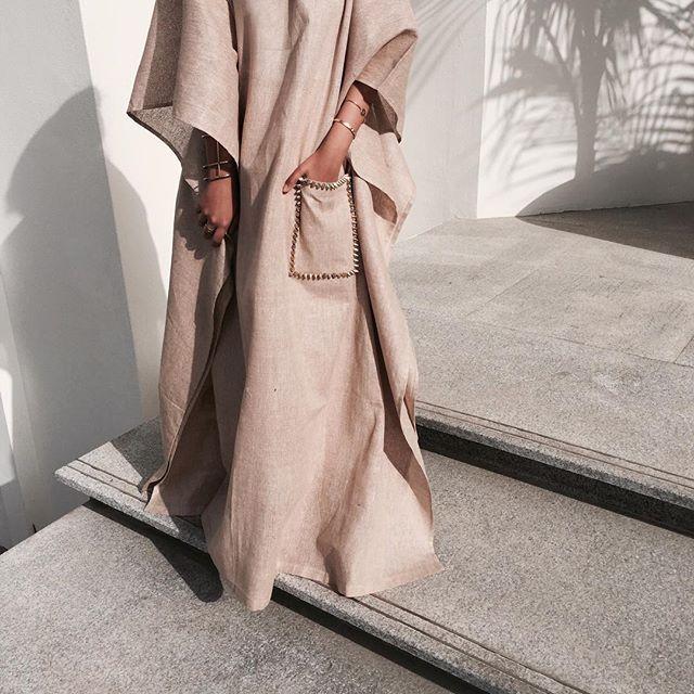 Studded pocket kaftan now available! #abaya#modestfashion | Available from Hinds.lounge IG