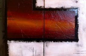 Mandy Auger, Still Force, 3'x2' Mixed media on canvas $400