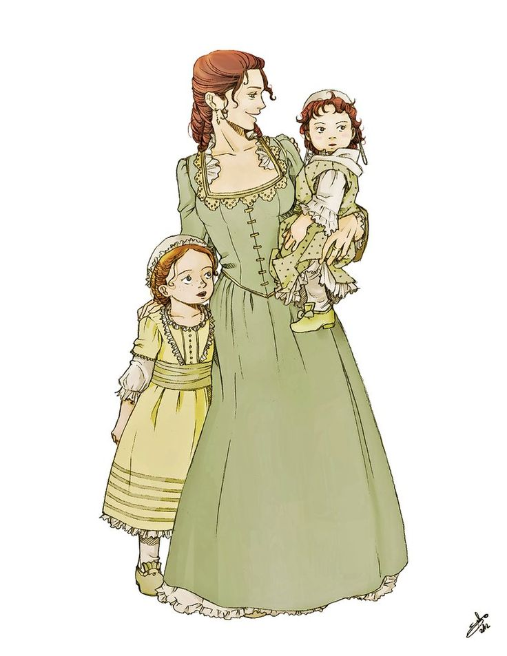Martha with little Patsy and Polly by *nami64 on deviantART