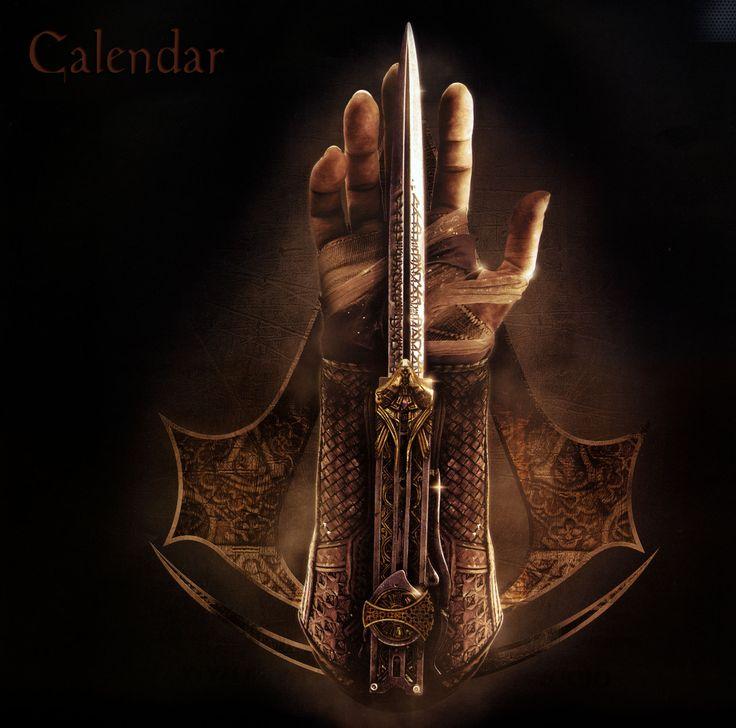 Calendar Michael Fassbender #AssassinsCreedMovie  Via >> http://www.michaelfassbender.org/accalendar.html