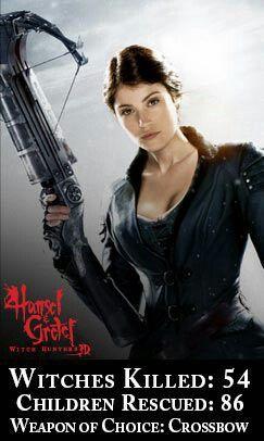 Hansel Gretel Witch Hunters Supernatural Movies Female Fighter Disney Films