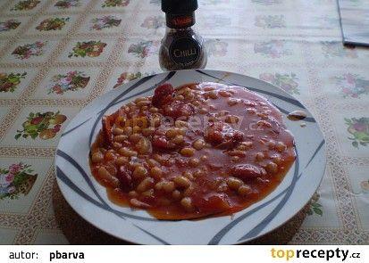 podáváme, popřípadě ochutíme chilli