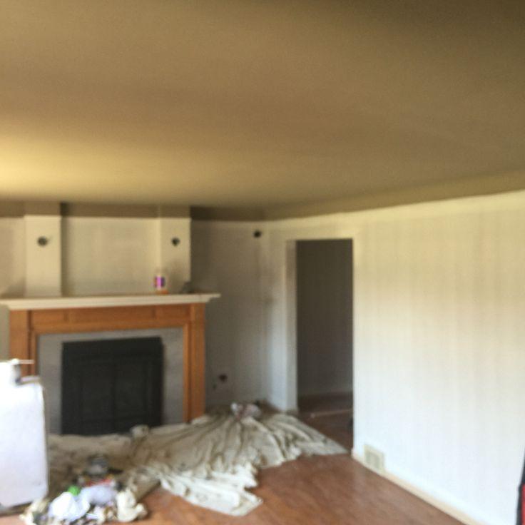 Living room ceiling shenandoah taupe benjamin moore for Waynesboro taupe benjamin moore