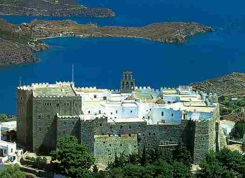 Patmos Greece - Cave of the Apocalypse (St. John received the Revelation)