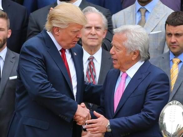 CAPLAN: New England Patriots Owner Robert Kraft's Criticism of President Trump is a Masterclass in Disloyalty