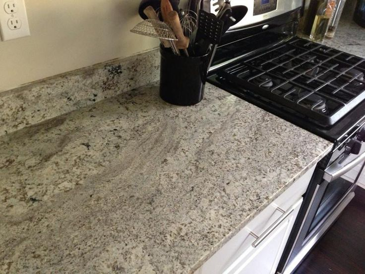 My New Granite Installation. Each Piece Is A Little Different With A Good  Deal Of Red Garnet Veining. Lots Of Depth. Alternative For Those (like  Myself) To ...