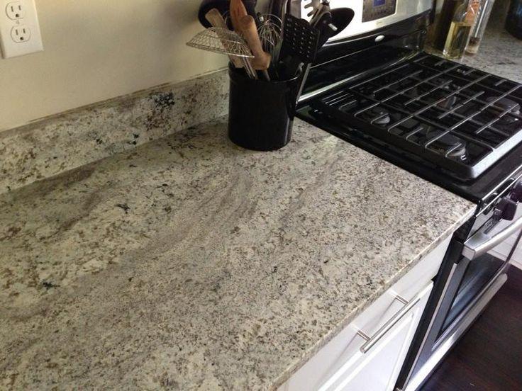 My New Granite Installation Arctic White Granite Each