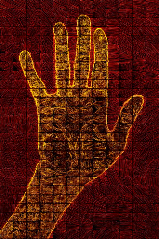 """Right Hand"", by Brian Matthew Hart"