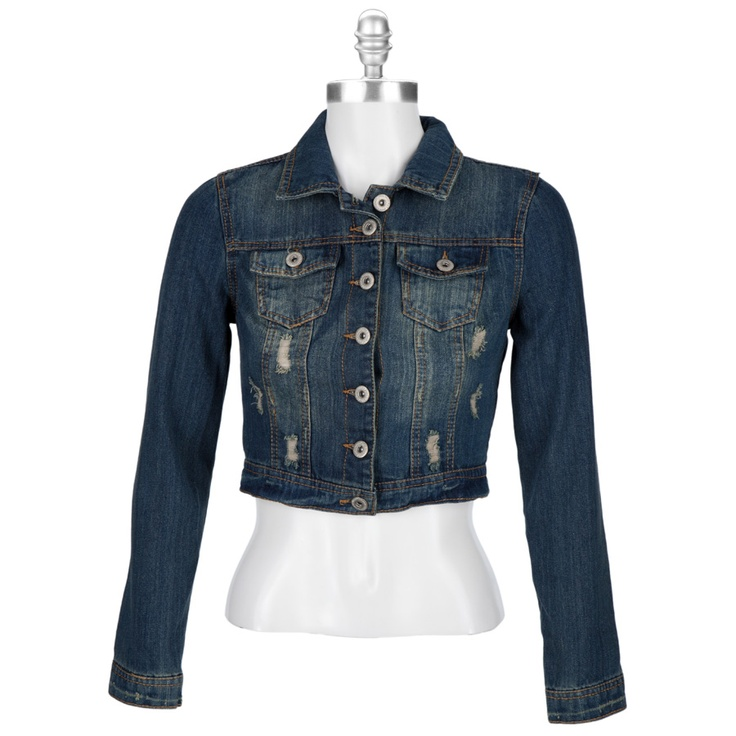 17 Best images about jean jacket on Pinterest