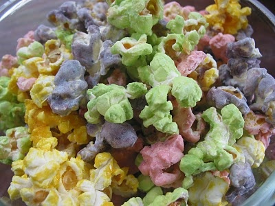 Colorful Fruit Flavored Popcorn