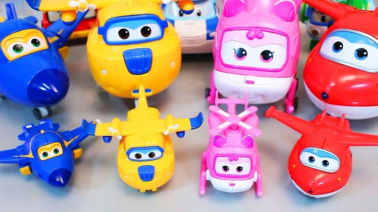 All Plane Super Wings Airplane Robocar Poli Transformers Toy - http://ift.tt/1mZZxO9