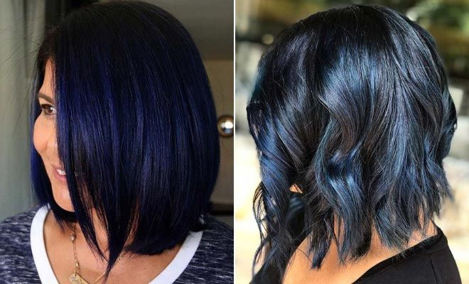 43 Beautiful Blue Black Hair Color Ideas To Copy Asap Page 2 Of 4 Stayglam Hair Color For Black Hair Blue Black Hair Color Blue Black Hair
