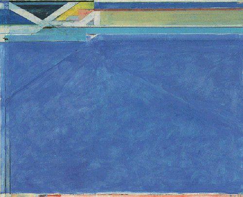 Ocean Park No. 129 by Richard Diebenkorn (1984)