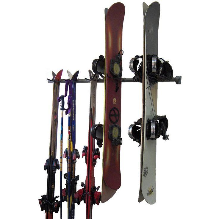 Monkey Bar Storage Ski And Snowboard Rack   03007