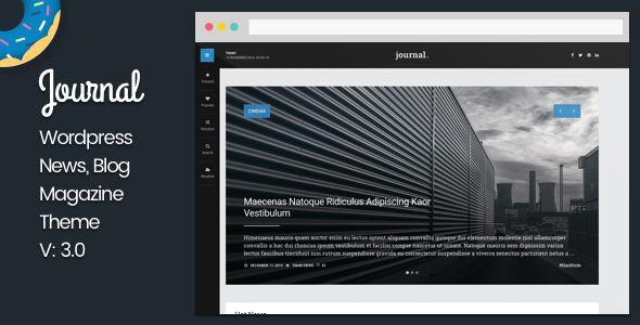 Journal - WordPress News and Blog Magazine