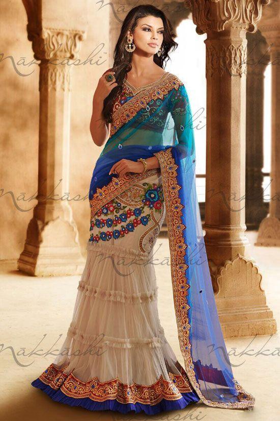Lehenga Sarees,Lehenga Style Sarees, Designer Lehenga Saris, Buy Lehenga Saree Online